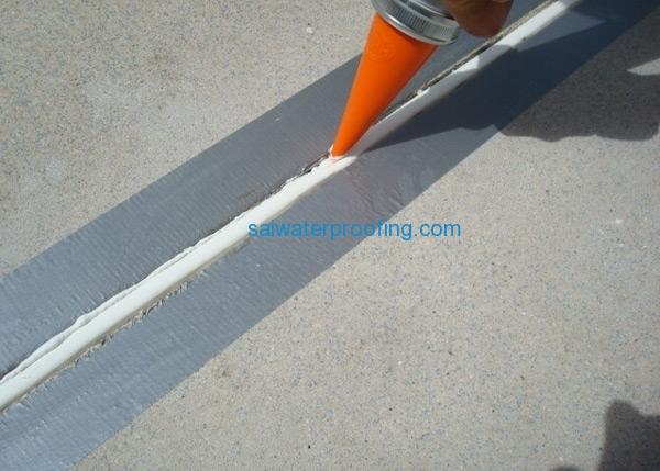 Doors and windows joint for Terrace waterproofing methods