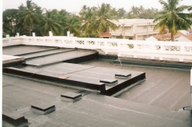 Terrace Waterproofing,brick-bat coba method